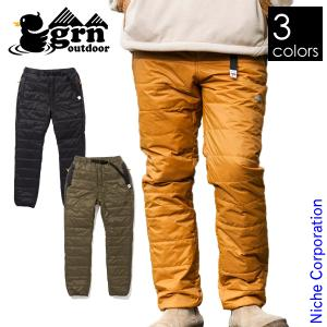 grn outdoor THERMO-NE-NIGHT PANTS 秋冬 GO9306Q